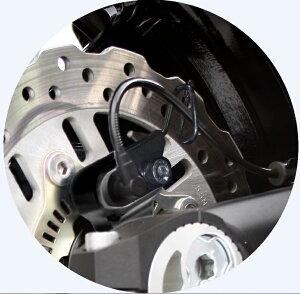 Ninja1000(ニンジャ1000)14~16年リアキャリパーサポートブラック(bremboブレンボ2POT&スタンダードローター径)ACTIVE(アクティブ)