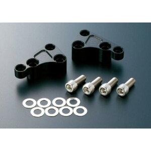 フロントキャリパーサポートbrembo40mmピッチ対応ブラックACTIVE(アクティブ)ゼファー1100(ZEPHYR)(92〜06年)(RS不可)