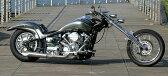 ドラッグスター400(DRAGSTAR) タイプ9マフラー ステンレス製ポリッシュ仕上げ 数量限定 アメリカンドラッガーズ(AmericanDragers)
