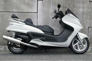 グランドマジェスティ400(O2センサー装着モデル)GTタイプマフラーASAKURA(浅倉商事)