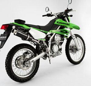 KLX250(BK-LX250S)SS300カーボンマフラーアップタイプスリップオンBEAMS(ビームス)