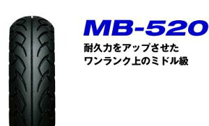 在庫商品は2・3営業日で発送!バイクタイヤタイヤIRC(井上) MB-520 100/90-10 インチ 56J TL ...