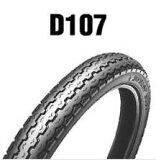 ダンロップタイヤ(DUNLOP)D107(リア)2.50-17 43L(6PR) WT