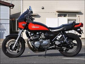 ゼファー750・RS(ZEPHYR)マスカロードクリアスクリーンギャラクシーシルバー/パールジェントリーグレー(火の玉)Y7通常スクリーンシックデザイン