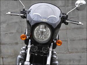 CB1100/EX(14年~)ロードコメットスモークスクリーンキャンディアリザリンレッド(単色)通常スクリーンCHICDESIGN(シックデザイン)
