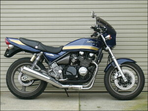 ゼファー400(ZEPHYR)89~95年マスカロードスモークスクリーンパールロイヤルブルー単色(7Q)エアロスクリーンCHICDESIGN(シックデザイン)