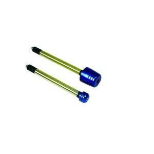 ハンドルバーウエイトビッグアルミ/ブルーアルミハンドル用(内径14Φ対応)EFFEX(エフェックス)