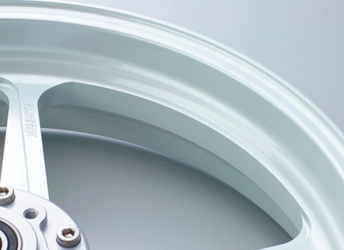 CB1100RS アルミニウム鍛造ホイール TYPE-R Gコート仕様 フロント用 350-17 ホワイト ガラスコー...