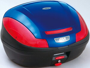 モノロックケースE470B529Dブルー塗装GIVI(ジビ)