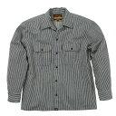 NHB1503 ワークシャツ(プロテクター対応シャツ)ヒッコ...