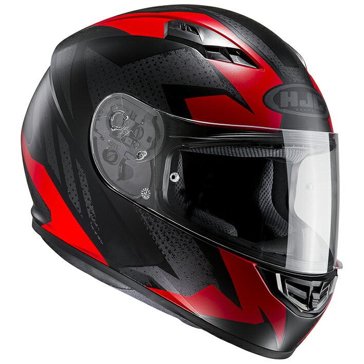 HJH115 CS-15 トリーグ フルフェイスヘルメット レッド XL(61-62)サイズ HJC