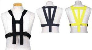 胸部パット用ハーネスB単体 (胸部+脊髄パッド取付け用) ブラック フリー(M〜3XL対応)サイズ hit-air(ヒットエアー)