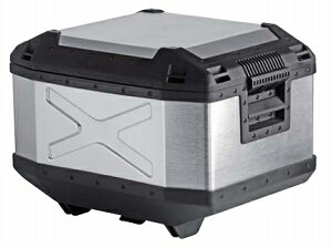 XPLORER(エクスプローラー)トップケース45LシルバーHEPCO&BECKER(ヘプコアンドベッカー)汎用送料無料