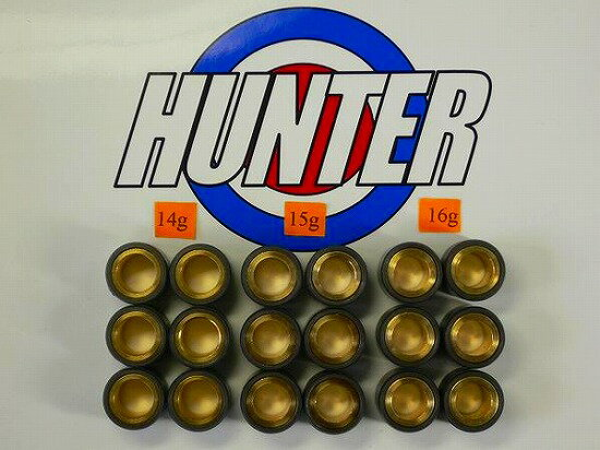 スズキ用オリジナルウェイトローラー セット 20Φ×15mm(14g/15g/16g)18個セット Hunter(ハンター)画像