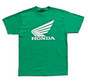 ウイングTシャツTN-M5B グリーン Lサイズ HONDA(ホンダ)