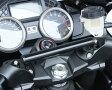 ZZR1400(06〜11年) ハンドルマウントステー ブラック KIJIMA(キジマ)