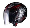 X-AIR RAZZOIII G1 ジェットヘルメット ブラック/フェ...