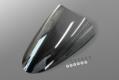 GSR400(06〜08年) アッパーカウル用スクリーン・ナイロンリベット付(補修部品)スーパーコート MAGICAL RACING(マジカルレーシング)