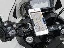 【おすすめ】バイク用 スマホ ホルダー バイク スマホホルダー スマートフォンホルダー クイックタイプ(工具なし簡単脱着タイプ) iPhone5 アイフォン5 DAYTONA(デイトナ)