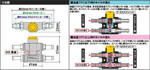 インラインサーモユニットキットラバーホース用SP武川(TAKEGAWA)車種汎用送料無料