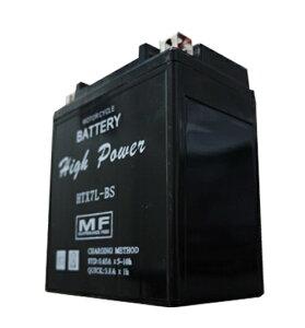 リード110(LEAD)JF19HTX7L-BS液入り充電済HighPowerバッテリーメンテナンスフリー(YTX7L-BS互換)T・K-corporation