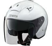 YJ-14 ZENITH(ゼニス) パールホワイト Lサイズ ジェットヘルメット YAMAHA(ヤマハ・ワイズギア)