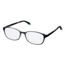 老眼鏡 シンプルビジョン スリム RG-002 ブラッククリア +1.50