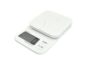 DRETEC デジタルスケール 「パカット」 2kg ホワイト KS-257WT【プレゼント用…