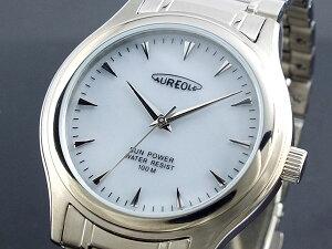 ★★ オレオール AUREOLE ★★オレオール AUREOLE ソーラー 腕時計 メンズ SW-449M-3≪良品返...
