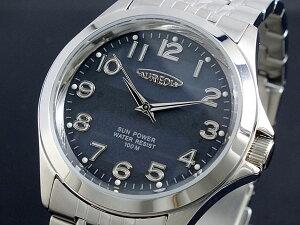 ★★ オレオール AUREOLE ★★オレオール AUREOLE ソーラー 腕時計 メンズ SW-482M-1≪良品返...