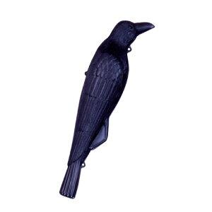 園芸用品・忌避商品の防鳥用品。カラスでカラスを撃退します。ミツギロン・コワガラス・ 02P01N...