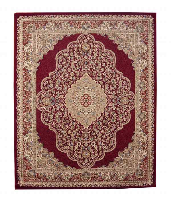 トルコ製 ウィルトン織り カーペット 『ベルミラ RUG』 ワイン 約160×230cm:送料0円 家具