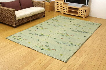 い草花ござカーペット 『嵐山』 本間6畳(約286.5x382cm)