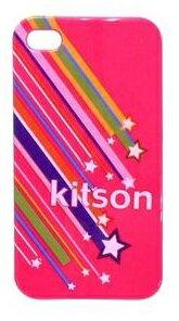 【早い者勝ち!限定商品】【kitson】 キットソン iPhone4 iPhone4s CASE ケース ハードタイプ 【訳有 わけあり 処分】 gentei
