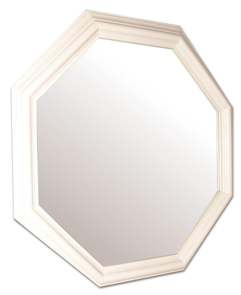 風水,八角形,鏡,ミラー,壁掛け鏡,ウォールミラー,幸運,送料,無料,ホワイト
