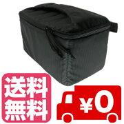カメラインナーバッグ インナー ソフトクッションボックス インナークッションケース ブラック