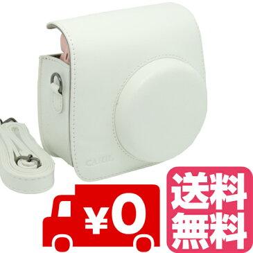 FUJIFILM インスタントカメラ チェキ instax mini 8 mini8+ プラス mini9 専用 カメラケース (ホワイト)