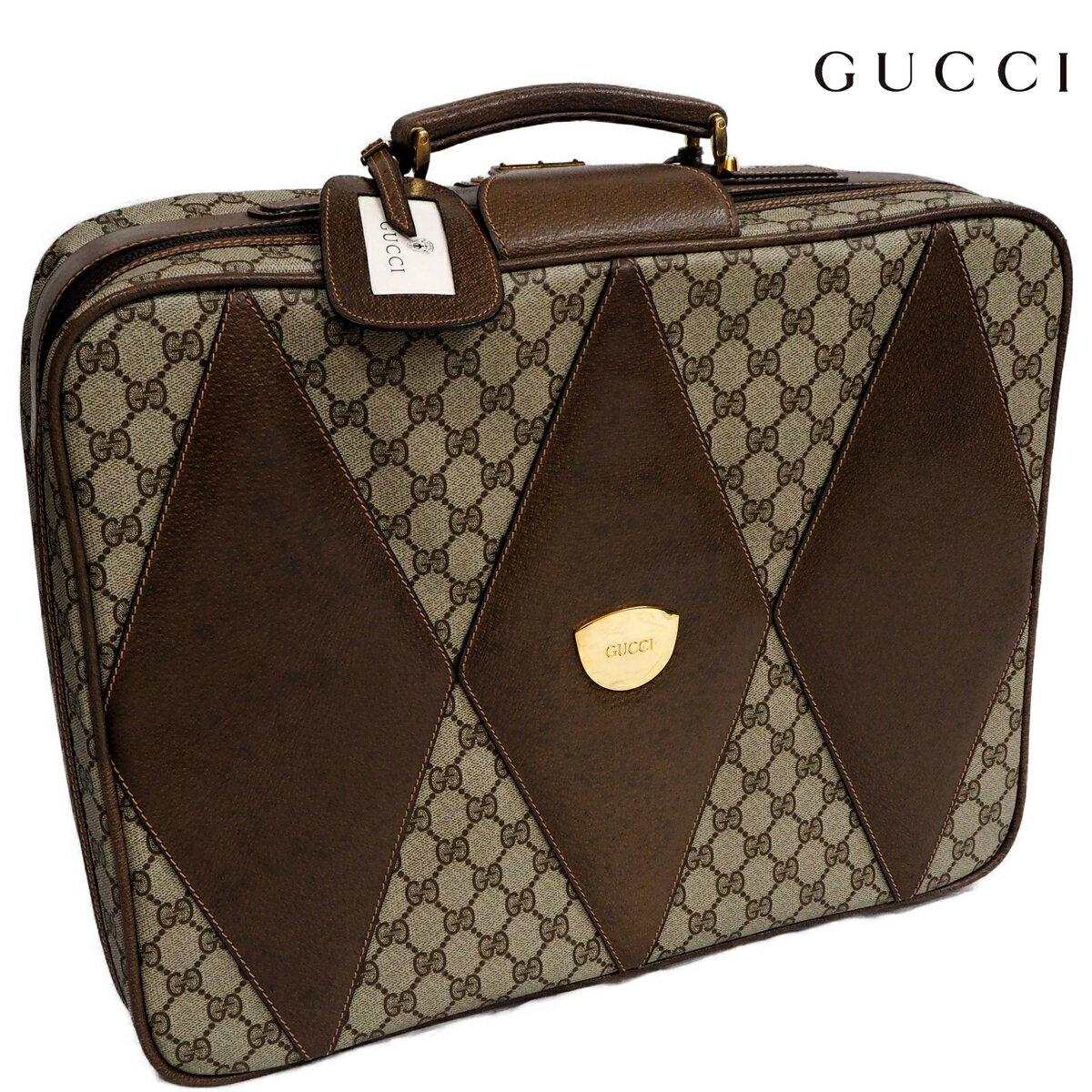 バッグ, スーツケース・キャリーバッグ  OLDGUCCI GG PVC