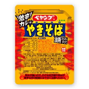 【送料無料(沖縄・離島除く)】まるか食品 ペヤング 激辛カレーやきそば 2ケース(117g×3…