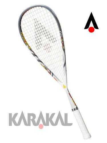 スカッシュ ラケット スカッシュラケット SQUASH MX-125 GEL KARAKAL カラカル【送料無料(沖縄・離...