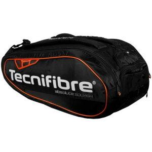 テニス バドミントン スカッシュ ラケットバッグ Tecnifibre(テクニファイバー) Absolute Orange 12R (スカッシュ12本入)【あす楽対応】【送料無料】