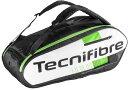 テニス スカッシュ バドミントン ラケットバッグTecnifibre(テクニファイバー) SQUASH GREEN 9R(ラケット9本収納可能)【あす楽対応】