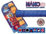 テニス バドミントン スカッシュ グリップテープ NANO 60 (3本入) KARAKAL カラカル【あす楽対応】