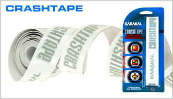 KARAKALCRASHTAPEスカッシュ&テニス用ラケットヘッドプロテクションテープ
