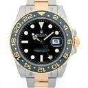 ロレックス ROLEX GMTマスター2 コンビ Ref.116713LN ブラック SS×YG コ ...