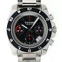 チュードル TUDOR グランツアークロノ 20350N 自動巻 41mm SS ブラック 新品
