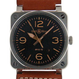 Bell&Ross【ベル&ロス】 7425 腕時計 /革 メンズ