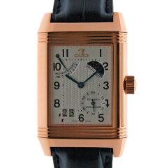 JAEGER-LECOULTRE【ジャガー・ルクルト】 レベルソ セプタンティエム Q3002420 腕時計 K18ピンクゴールド/革 レディース