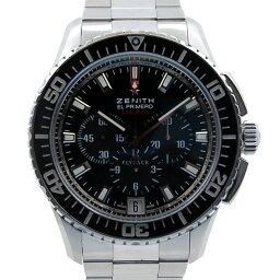 ZENITH【ゼニス】  エルプリメロ ストラトス フライバッククロノ 03.2060.405/21.M2060 腕時計 /SS(ステンレススチール)