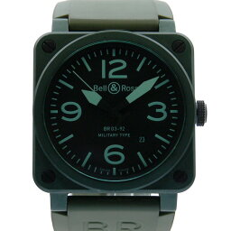 Bell&Ross【ベル&ロス】 -92 BR03 腕時計 /ラバー メンズ